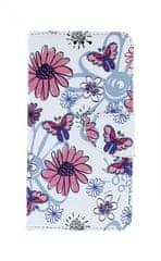 TopQ Pouzdro Xiaomi Redmi Note 6 Pro knížkové Flowers 35336
