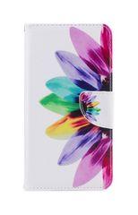 TopQ Pouzdro Asus ZenFone 4 Max ZC554KL knížkové barevná květina 24339