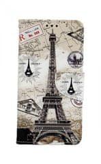 TopQ Pouzdro Samsung A10 knížkové Paris 2 43332
