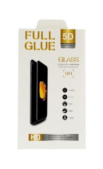 FullGlue Polykarbonátové tvrdené sklo Huawei P20 Lite 5D čierne 31189