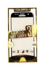 BestGlass Polykarbonátové tvrzené sklo iPhone 7 3D černé 27076