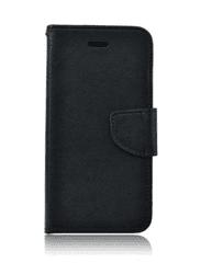 TopQ Pouzdro Samsung Xcover 4 knížkové černé 17623