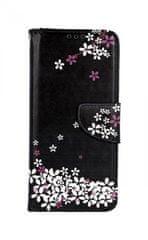 TopQ Pouzdro Xiaomi Mi 9 knížkové Květy sakury 42290