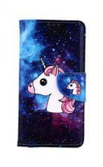 TopQ Pouzdro Huawei Y6 2019 knížkové Space Unicorn 40334