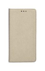 TopQ Pouzdro Samsung Xcover 4 Smart Magnet knížkové zlaté 23963