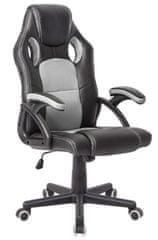 Hyle VRT. K-8080 uredski stolac, sivi