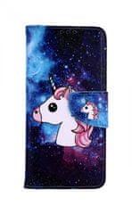 TopQ Pouzdro Xiaomi Mi 9 knížkové Space Unicorn 42291