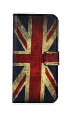 TopQ Pouzdro Honor 9 Lite knížkové Anglie 28123