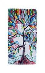 TopQ Pouzdro Xiaomi Redmi Note 8 Pro knížkové Barevný strom 46142