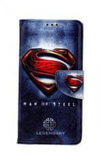 TopQ Pouzdro Honor 8A knížkové Superman 2 44355