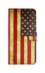 TopQ Pouzdro Honor 8X knížkové Amerika 37692