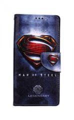 TopQ Pouzdro Xiaomi Redmi Note 8 Pro knížkové Superman 2 46143
