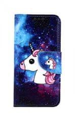 TopQ Pouzdro Samsung A40 knížkové Space Unicorn 41046