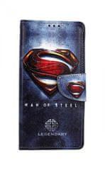 TopQ Pouzdro Samsung A70 knížkové Superman 2 44285