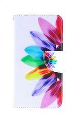 TopQ Pouzdro Xiaomi Redmi 6A knížkové Barevná květina 37130