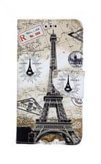 TopQ Pouzdro Honor 8X knížkové Paris 2 35394