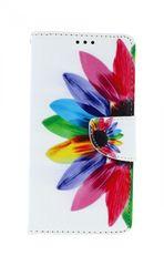 TopQ Pouzdro Huawei Y6s knížkové Barevná květina 48411