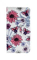 TopQ Pouzdro Huawei P30 Lite knížkové Flowers 41449