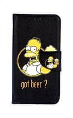 TopQ Pouzdro Honor 10 Lite knížkové Homer 38300
