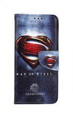 TopQ Pouzdro Xiaomi Redmi Note 8T knížkové Superman 2 46870