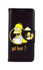 TopQ Kryt Samsung A71 knížkový Homer 48428