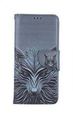 TopQ Kryt Samsung A71 knížkový Vlk 48423