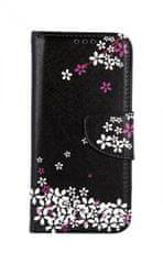 TopQ Pouzdro Samsung A40 knížkové Květy sakury 41045