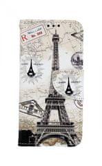 TopQ Pouzdro Samsung A40 knížkové Paris 2 41048