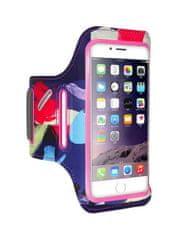 FLOVEME Sportovní kryt na ruku velikost M Colorful Pink 40267