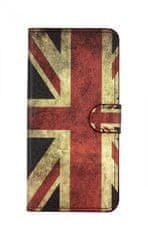 TopQ Pouzdro Honor 8X knížkové Anglie 37696