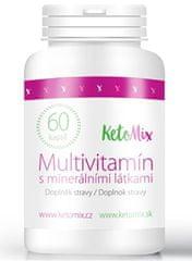 KetoMix Multivitamín s minerálnymi látkami 60 kapslí