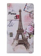 TopQ Pouzdro Asus ZenFone 3 Max ZC553KL knížkové Eiffelova věž 16927