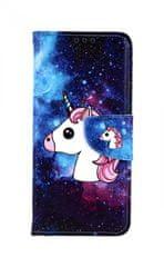 TopQ Pouzdro Xiaomi Redmi Note 7 knížkové Space Unicorn 40359