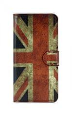 TopQ Pouzdro Huawei P20 Lite knížkové Anglie 29090