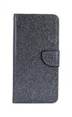 TopQ Pouzdro Xiaomi Mi A3 knížkové glitter šedé 46101