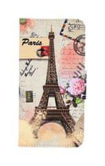 TopQ Pouzdro Honor 10 Lite knížkové Eiffelova věž 38375