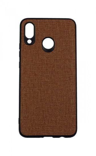 TopQ Pouzdro Huawei Nova 3 pevné Texture hnědé 33107