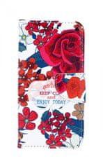 TopQ Pouzdro Xiaomi Mi A2 Lite knížkové Roses 34810