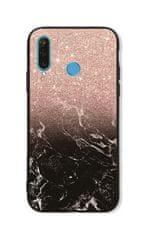 TopQ Kryt LUXURY Huawei P30 Lite pevný Sparkling Marble 41943