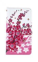TopQ Pouzdro Xiaomi Redmi 6 knížkové kytičky 32066