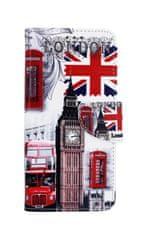 TopQ Pouzdro Xiaomi Redmi 5 Plus knížkové Londýn 30554