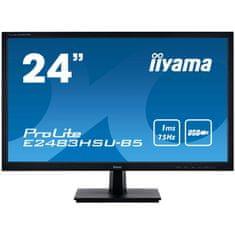 iiyama ProLite E2483HSU-B5 monitor, 60,96 cm (139914)