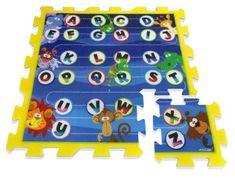 Stamp Mäkké puzzle bloky Džungla 9ks
