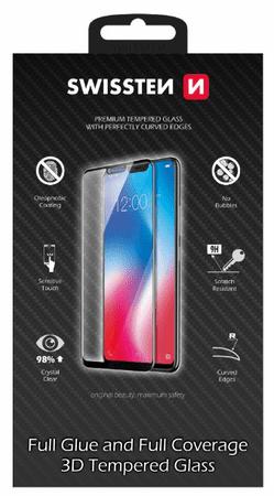 SWISSTEN Ultra Durable 3D FULL GLUE Glass védőüveg, XIAOMI REDMI NOTE 7 (64701823)