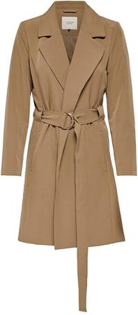 Jacqueline de Yong Női kabát JDYORNELLA BELT TRENCHCOAT OTW YFM smoke (Méret L)