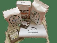 Zdraví z přírody Balíček 1.- surovin pro domácí kváskové pečení + ZDARMA návod na výrobu kvásku a recept