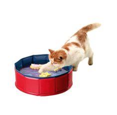 Karlie bazének se 3 hračkami, 30 cmx10 cm