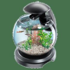 Tetra Duo filtrirana steklena posoda, LED, 6,8, črna