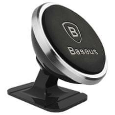 BASEUS 360 univerzálny mágneses autós telefontartó, ezüst
