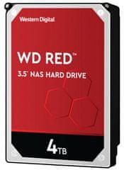 Western Digital RED 4 TB, SATA 6 Gb/s, 5400, 256 MB trdi disk (WD40EFAX9)